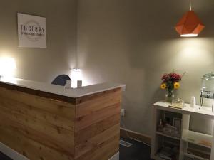 The Studio - reception area