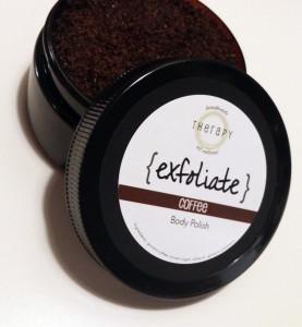 products - exfoliate - coffee body polish